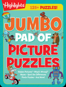 Jumbo Pad of Picture Puzzles