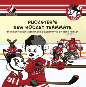 Puckster's New Hockey Teammate