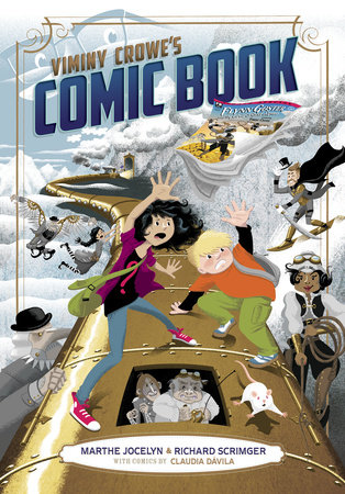 Viminy Crowe's Comic Book by Marthe Jocelyn and Richard Scrimger