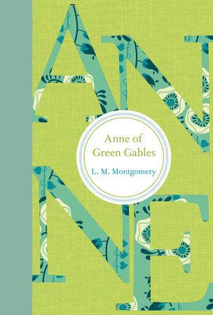 ANNE OF GREEN GABLES Book Cover Picture