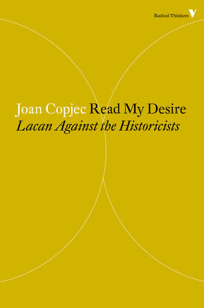Read My Desire by Joan Copjec