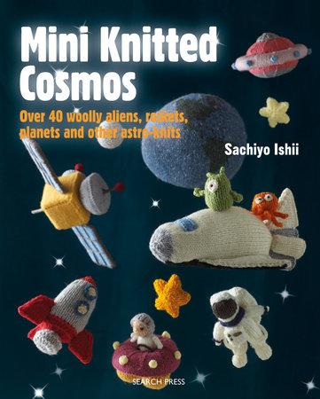 Mini Knitted Cosmos by Sachiyo Ishii