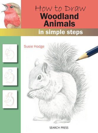 How to Draw: Woodland Animals In Simple Steps
