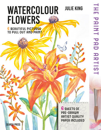 The Paint Pad Artist: Watercolour Flowers
