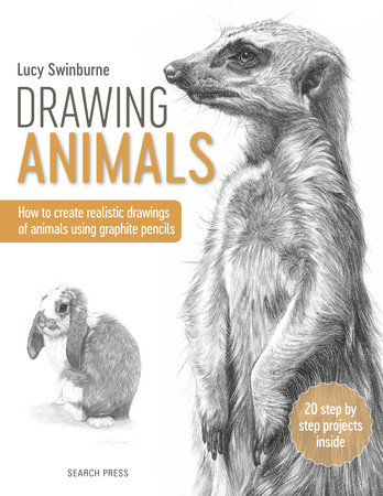 Drawing Animals By Lucy Swinburne 9781782217190 Penguinrandomhouse Com Books