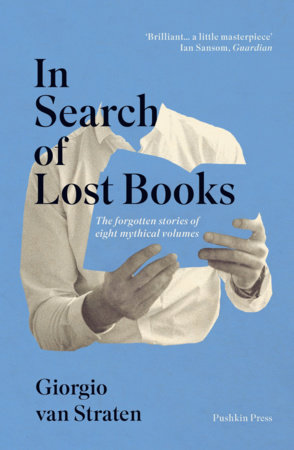 The cover of the book In Search of Lost Books