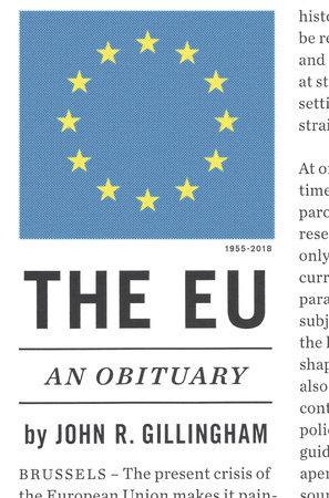 The EU by John R. Gillingham