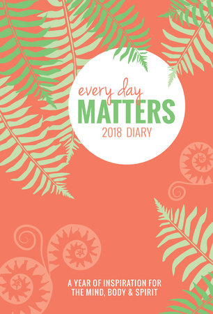 Every Day Matters Desk 2018 Diary / Planner / Scheduler / Organizer by Dani DiPirro