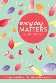 Every Day Matters 2019 Desk Diary / Planner / Scheduler / Organizer