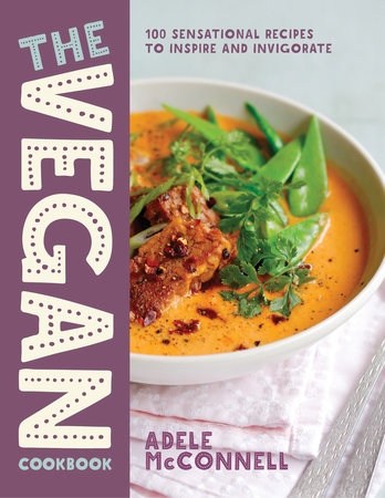 The Vegan Cookbook by Adele McConnell