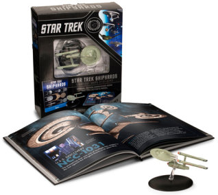 Star Trek Shipyards Starfleet Starships: 2151-2293 The Encyclopedia of Starfleet Ships Plus Collectible