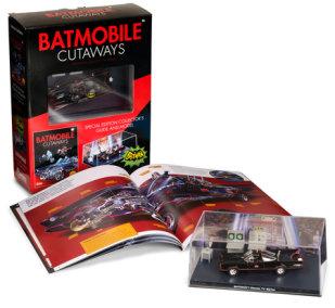 Batmobile Cutaways: Batman Classic TV Series Plus Collectible