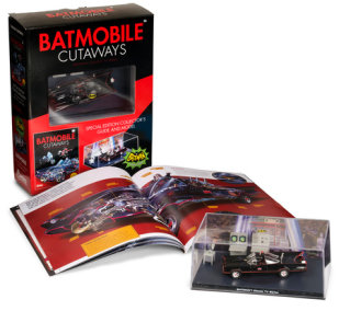 Batmobile Cutaways: Batman Classic TV Series Plus Collectible