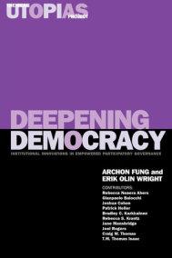 Deepening Democracy
