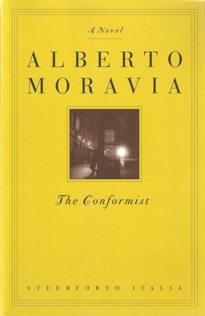 The cover of the book The Conformist
