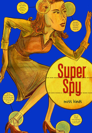 Super Spy by Matt Kindt