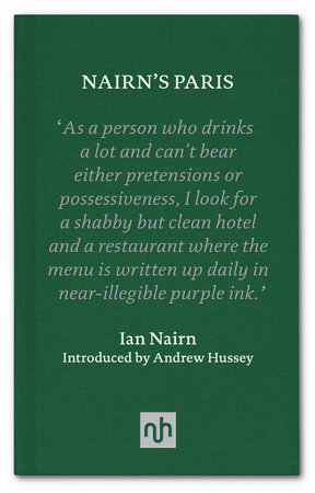 Nairn's Paris by Ian Nairn