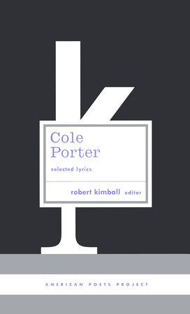 Cole Porter: Selected Lyrics by Cole Porter
