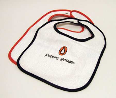 Bib: Future Reader (Black Trim) by Penguin Merchandise