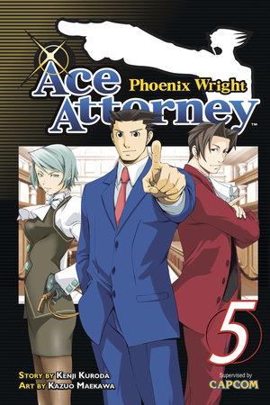 Phoenix Wright: Ace Attorney 5 by Kenji Kuroda