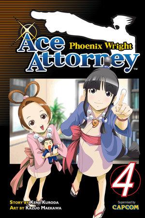 Phoenix Wright: Ace Attorney 4 by Kenji Kuroda