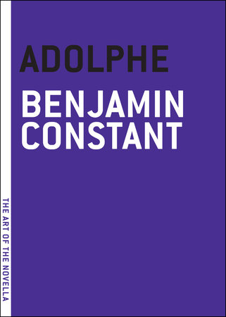 Adolphe by Benjamin Constant