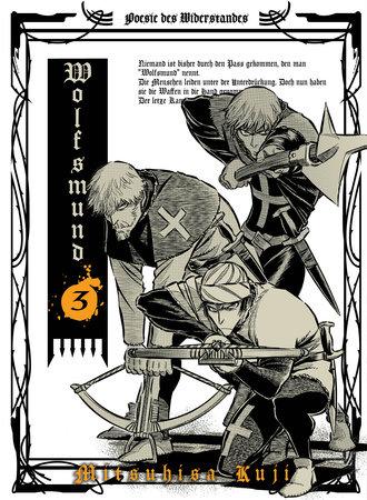 Wolfsmund, vol 3 by Mitsuhisa Kuji