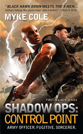 The cover of the book Shadow Ops: Control Point