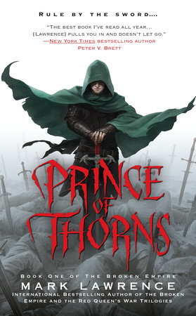 The cover of the book Prince of Thorns