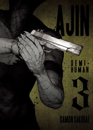 Ajin, Volume 3 by Gamon Sakurai