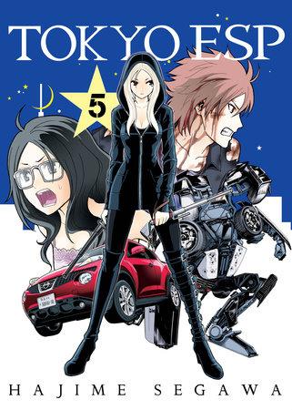 Tokyo ESP, volume 5 by Hajime Segawa