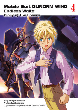 Mobile Suit Gundam WING, 4 by Tomofumi Ogasawara