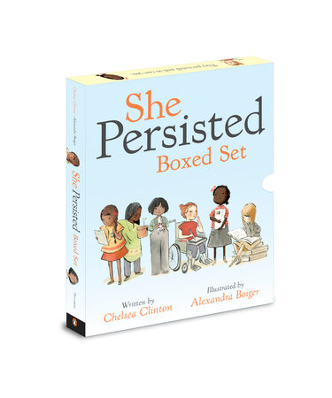 She Persisted Boxed Set by Chelsea Clinton