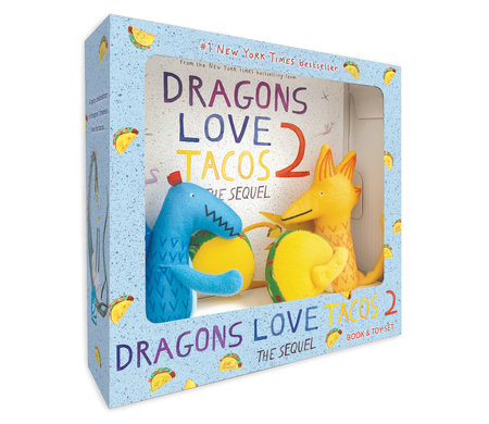 Dragons Love Tacos 2 Book and Toy Set by Adam Rubin