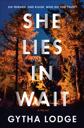 The cover of the book She Lies in Wait