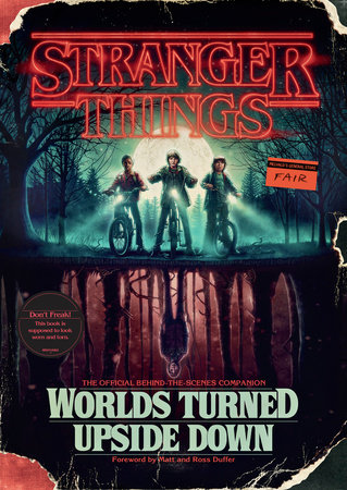 The cover of the book Stranger Things: Worlds Turned Upside Down