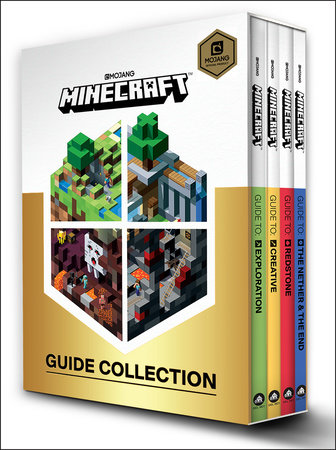 Minecraft: Guide Collection 4-Book Boxed Set by Mojang Ab, The