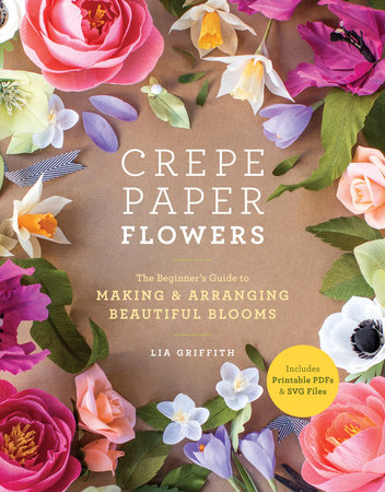 The cover of the book Crepe Paper Flowers