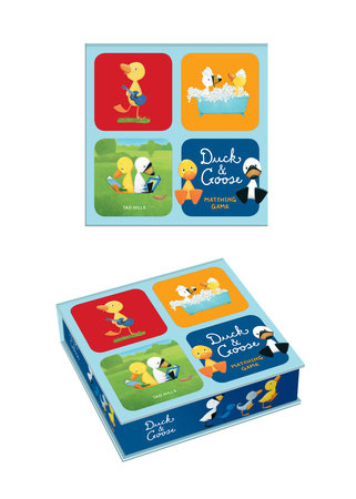 Duck & Goose Matching Game by Tad Hills