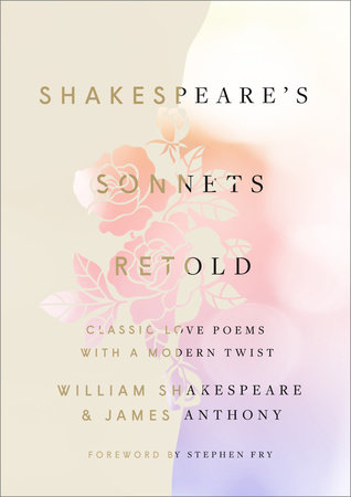 The cover of the book Shakespeare's Sonnets, Retold