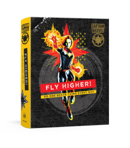 Captain Marvel Journal: Fly Higher!