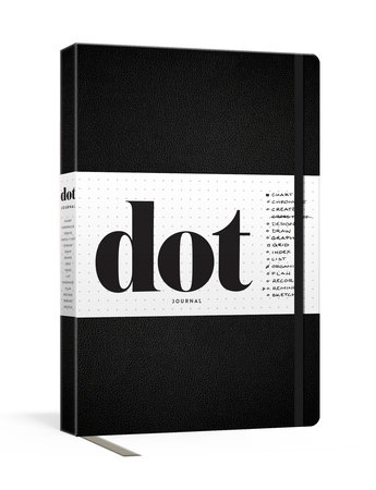 Dot Journal (Black) by Potter Gift