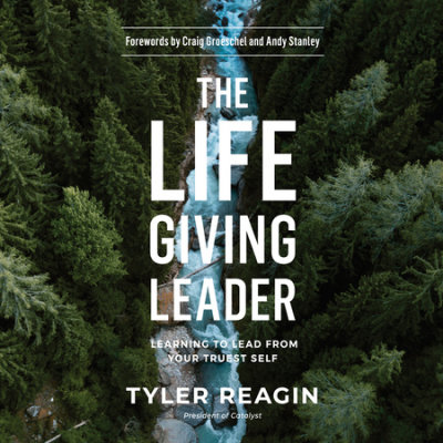 The Life-Giving Leader cover
