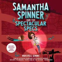 Samantha Spinner and the Spectacular Specs Cover