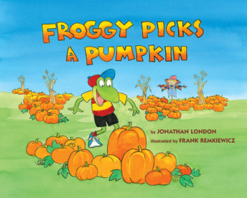 Froggy Picks a Pumpkin
