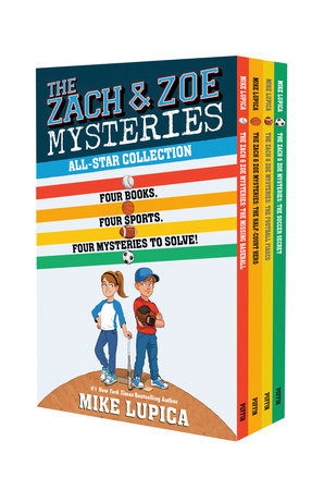 The Zach & Zoe Mysteries All Star Collection by Mike Lupica