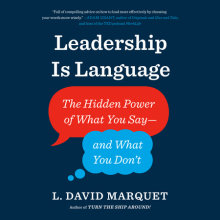 Leadership Is Language Cover