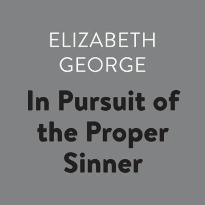 In Pursuit of the Proper Sinner cover