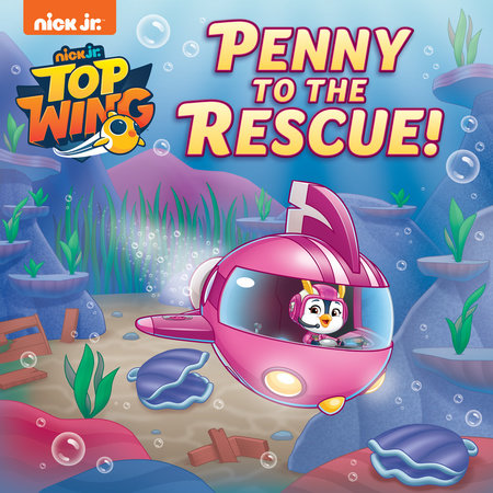 Penny to the Rescue! (Top Wing) by Casey Neumann