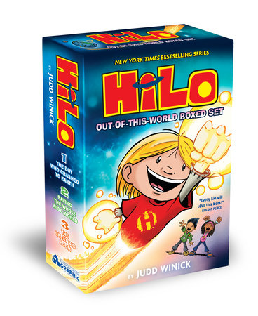 Hilo: Out-of-This-World Boxed Set by Judd Winick